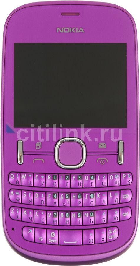 Мобильный телефон NOKIA Asha 200  розовый