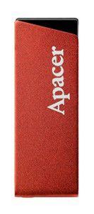 Флешка USB APACER AH130 4Гб, USB2.0, красный [ap4gah130r-1]
