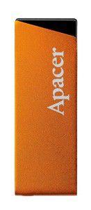 Флешка USB APACER AH130 8Гб, USB2.0, оранжевый [ap8gah130t-1]