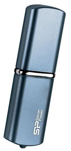 Флешка USB SILICON POWER LuxMini 720 16Гб, USB2.0, синий [sp016gbuf2720v1d]