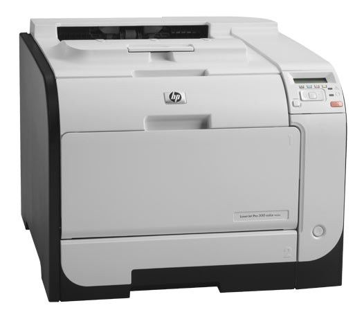 Принтер HP Color LaserJet Pro 300 color M351a (CE955A),  лазерный, цвет:  белый
