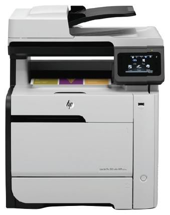 МФУ HP LaserJet Pro M375nw,  A4,  цветной,  лазерный,  белый [ce903a]