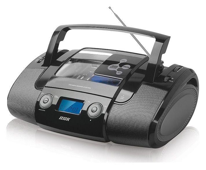 Аудиомагнитола BBK BX314U,  черный