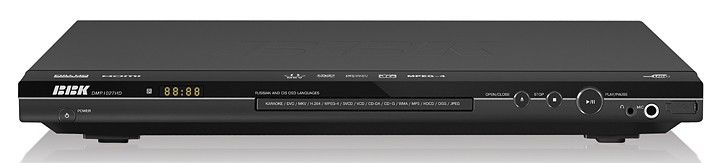 DVD-плеер BBK DMP1027HD,  черный