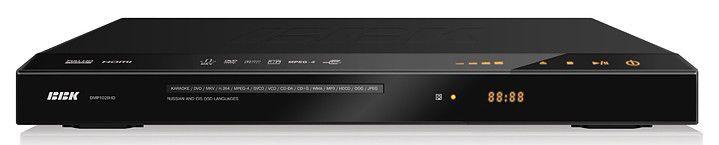 DVD-плеер BBK DMP1028HD,  черный