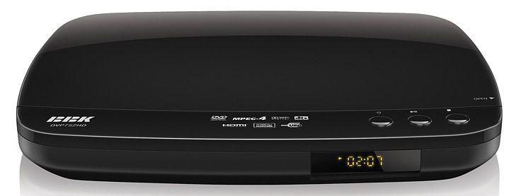 DVD-плеер BBK DVP752HD,  черный,  диск 500 песен