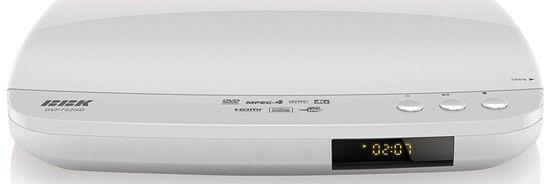 DVD-плеер BBK DVP752HD,  белый,  диск 500 песен