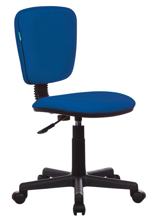 Кресло БЮРОКРАТ Ch-204NX, на колесиках, ткань, синий [ch-204nx/26-21]