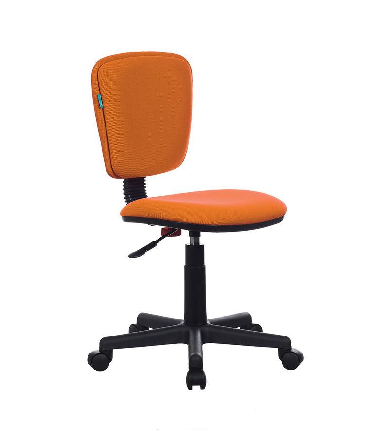 Кресло БЮРОКРАТ Ch-204NX, на колесиках, ткань, оранжевый [ch-204nx/26-291]