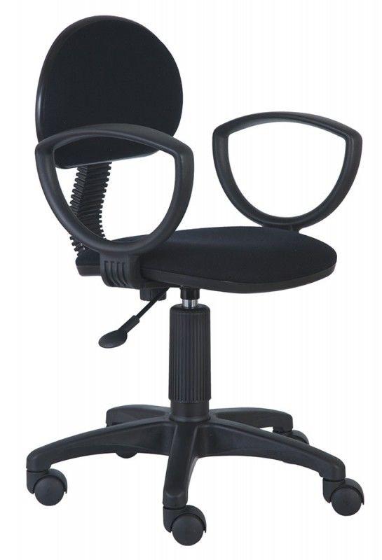 Кресло БЮРОКРАТ Ch-213AXN, на колесиках, ткань, черный [ch-213axn/b]