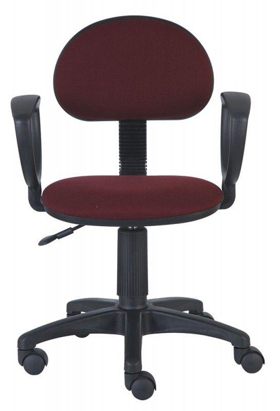 Кресло БЮРОКРАТ Ch-213AXN, на колесиках, бордовый [ch-213axn/ch]
