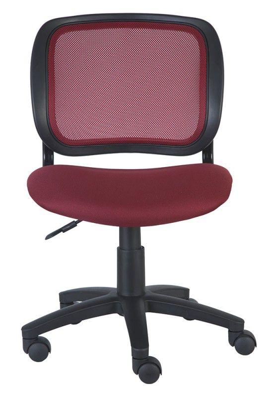 Кресло БЮРОКРАТ CH-297NX, на колесиках, ткань, бордовый [ch-297/ch/15-11]