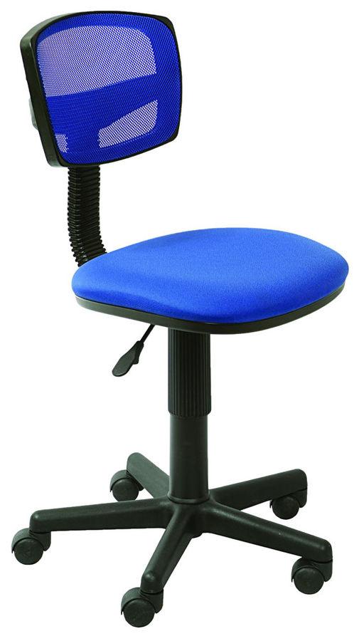 Кресло БЮРОКРАТ CH-299NX, на колесиках, ткань, синий [ch-299/bl/15-10]