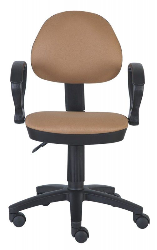 Кресло БЮРОКРАТ Ch-318AXN, на колесиках, ткань, бежевый [ch-318axn/15-109]