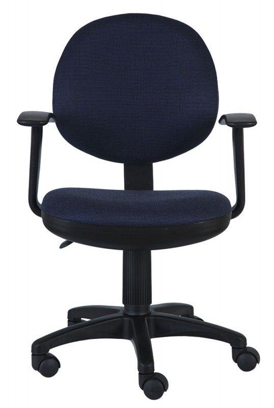 Кресло БЮРОКРАТ Ch-356AXSN, на колесиках, ткань, темно-синий [ch-356axsn/bl&blu]