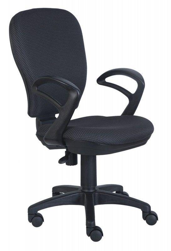 Кресло БЮРОКРАТ Ch-513AXN, на колесиках, ткань, темно-серый/черный [ch-513axn/#grey]
