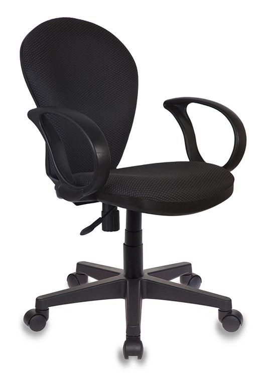 Кресло БЮРОКРАТ Ch-687AXSN, на колесиках, ткань, темно-серый/черный [ch-687axsn/#g]
