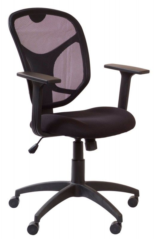 Кресло БЮРОКРАТ Ch-697AXSN, на колесиках, черный [ch-697axsn/tw-11]