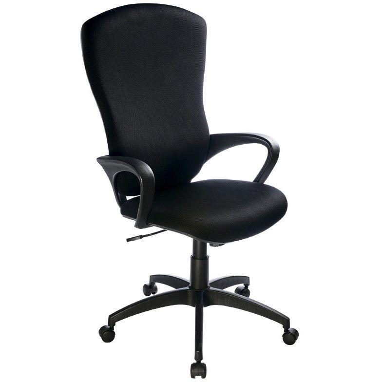 Кресло руководителя БЮРОКРАТ Ch-818AXSN, на колесиках, ткань, черный [ch-818axsn/15-21]
