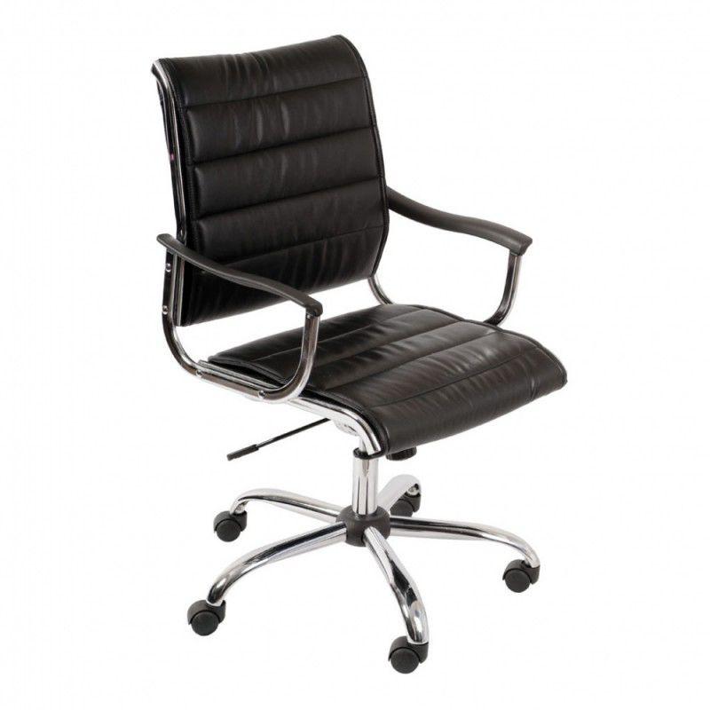 Кресло руководителя БЮРОКРАТ Ch-994AXSN, на колесиках, искусственная кожа, черный