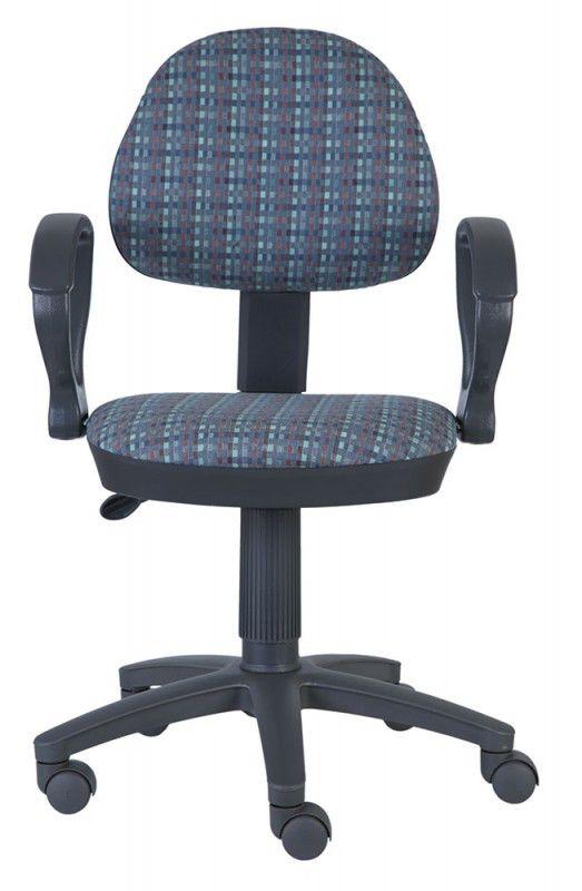 Кресло БЮРОКРАТ Ch-G318AXN, на колесиках, ткань, клетка [ch-g318axn/check]