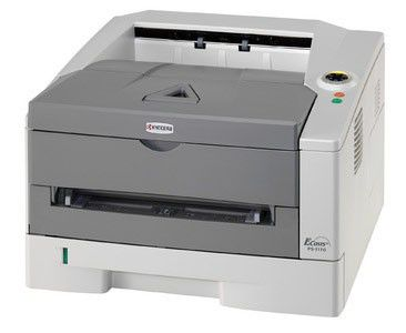 Принтер KYOCERA FS-1110 лазерный, цвет:  белый [1102m13nx0]