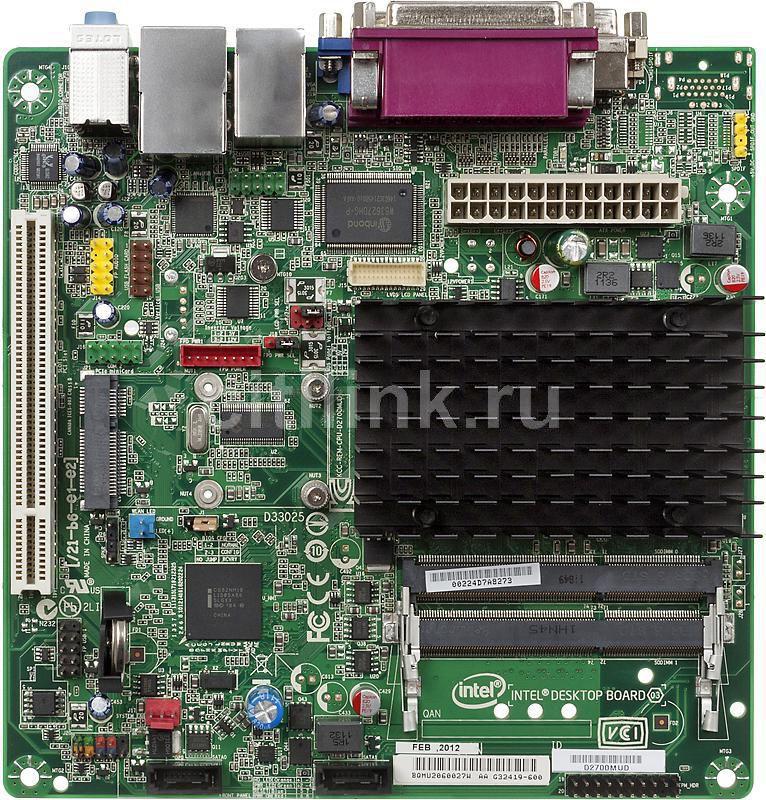 Материнская плата INTEL D2700MUD mini-ITX, bulk