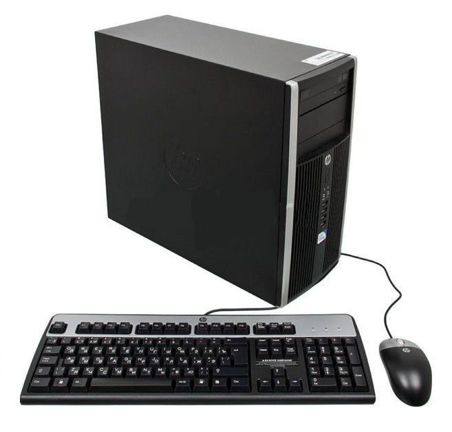 Компьютер  HP Pro 6200,  Intel  Pentium  G630,  2Гб, 500Гб,  DVD-RW,  Windows 7 Professional [a2k27es]