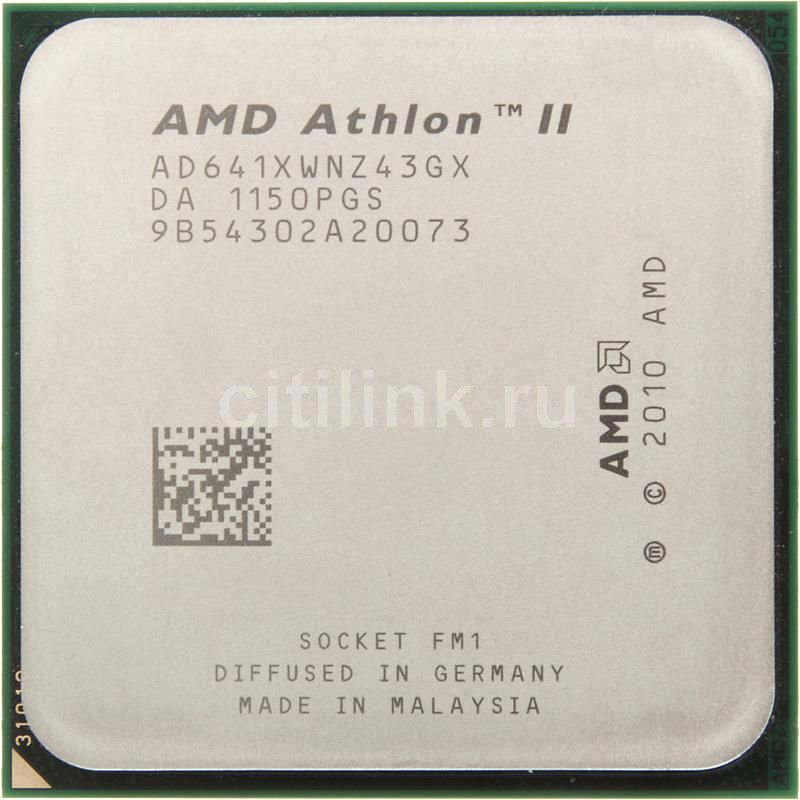 Процессор AMD Athlon II X4 641, SocketFM1 OEM [ad641xwnz43gx]