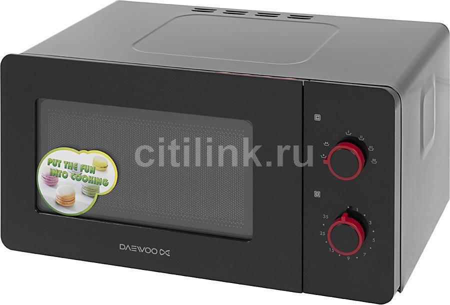 Микроволновая печь DAEWOO KOR-5A17R, черный