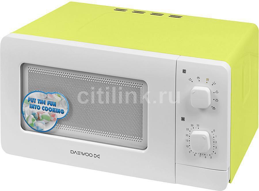 Микроволновая печь DAEWOO KOR-5A07G, зеленый
