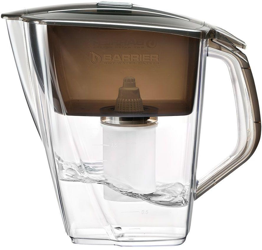 Фильтр для воды БАРЬЕР Гранд NEO,  антрацит,  4л [в015р00]