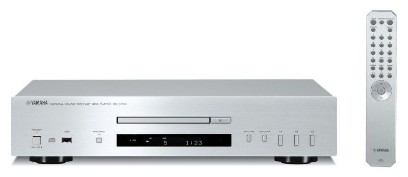 Плеер CD YAMAHA CD-S700,  серебристый [acds700s]