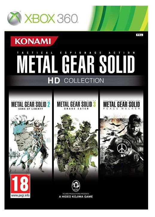 Игра MICROSOFT Metal Gear Solid HD Collection для  Xbox360 Eng