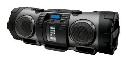 Аудиомагнитола JVC RV-NB70BEY,  черный и серый