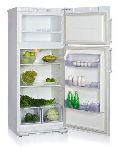 Холодильник БИРЮСА 136L,  двухкамерный,  белый
