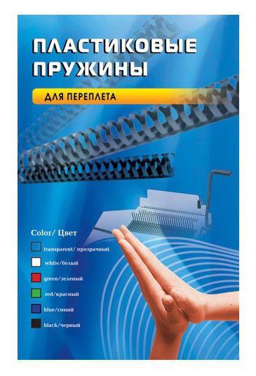 Пружина пластиковая OFFICE KIT BP2060,  19мм,  131 - 170 листов,  A4,  100,  черный