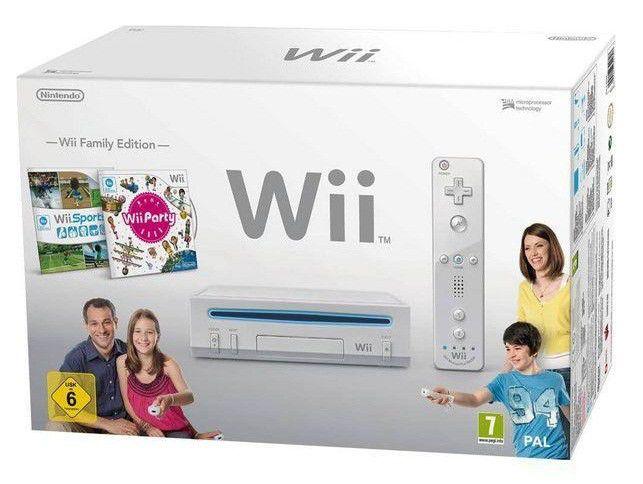 Игровая консоль NINTENDO Wii 105975, белый