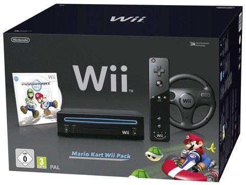 Игровая консоль NINTENDO Wii 105976, черный