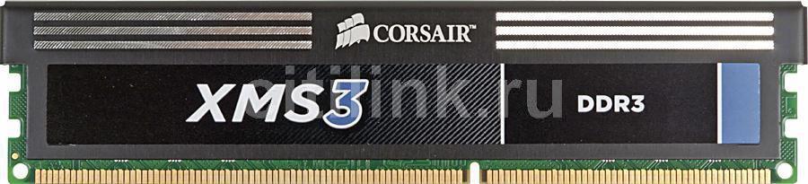 Модуль памяти CORSAIR XMS3 CMX8GX3M1A1333C9 DDR3 -  8Гб 1333, DIMM,  Ret