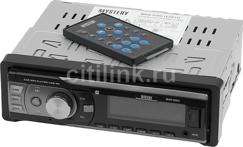 Автомагнитола MYSTERY MAR-828U,  USB,  SD/MMC