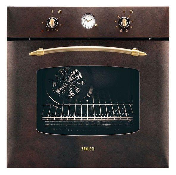 Духовой шкаф ZANUSSI ZOB282CC,  коричневый