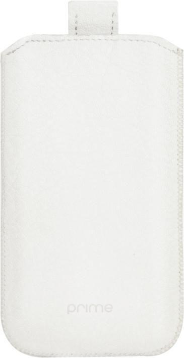 Чехол (футляр) DEPPA Prime Classic, для Samsung Wave 525/723, белый [005]