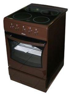 Электрическая плита HANSA FCCB52004010,  стеклокерамика,  коричневый