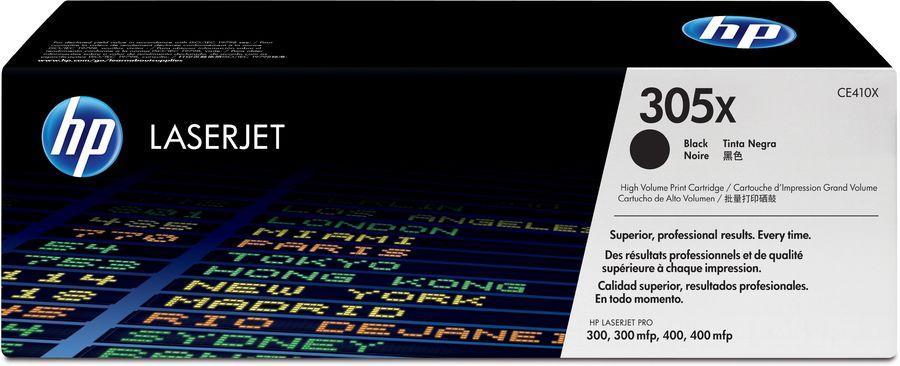 Картридж HP №305X черный [ce410x]