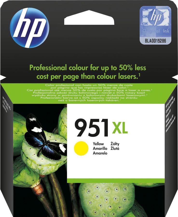 Картридж HP 951XL желтый [cn048ae]