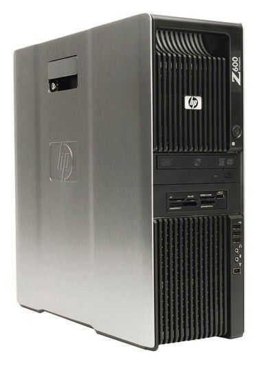 Рабочая станция  HP Z600,  Intel  Xeon  E5620,  DDR3 8Гб, 250Гб,  DVD-ROM,  Windows 7 Professional,  черный [a9f62aw]