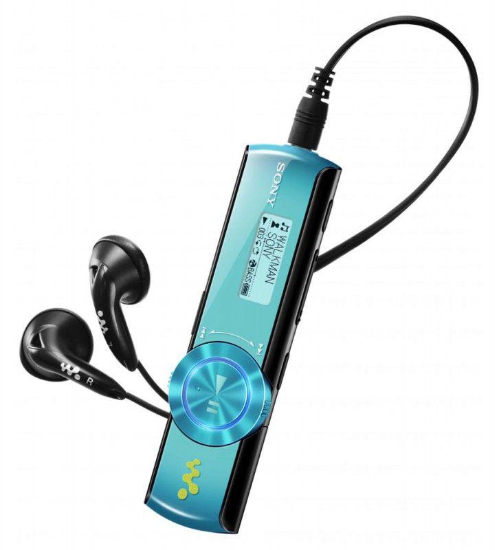 MP3 плеер SONY NWZ-B173F flash 4Гб голубой [nwzb173fli.cev]