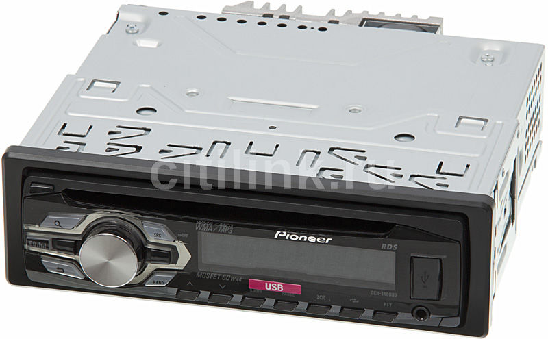 Автомагнитола PIONEER DEH-1400UB,  USB