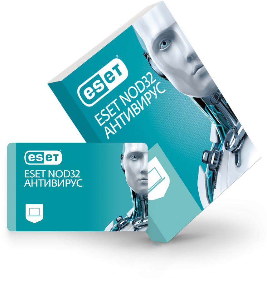 ПО ESET NOD32 Антивирус - продление лицензии на 1 год на 3ПК, CARD [nod32-ena-rn(card3)-1-1]